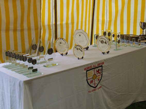 The Awards ready to be presented