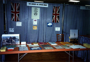 The W.A.B. stand at the Dayton Hamvention, Ohio, 1990