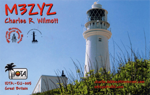 M3ZYZ QSL Card front