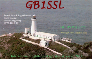 GB1SSL QSL Card front